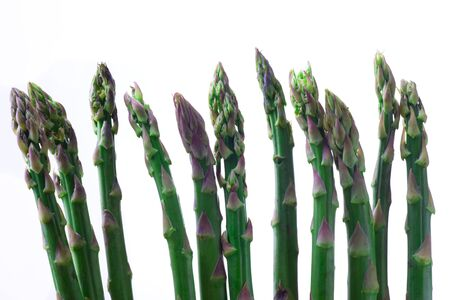 raw green asparagus Stock Photo - 19385144