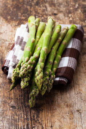 raw green asparagus  Stock Photo - 19385165
