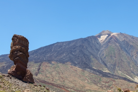 roques de garcia at teide, tenerife  photo