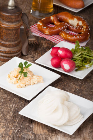 obazda: bavarian specialities on small plates