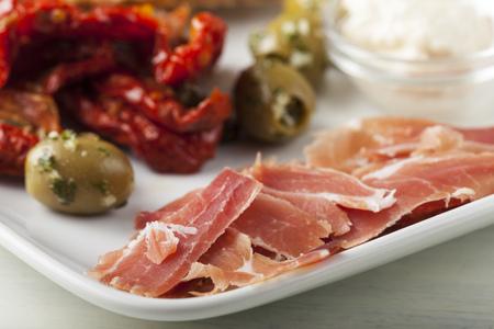 speciality: south tirol toerggelen ham speciality