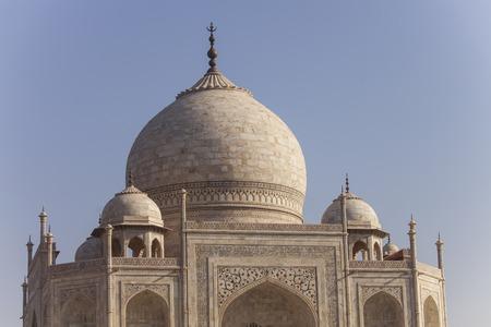 love dome: taj mahal in agra india