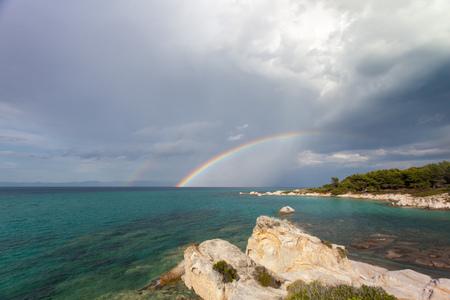 aegis: rainbow over the aegis
