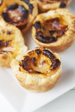 nata: pasteis de nata from portugal