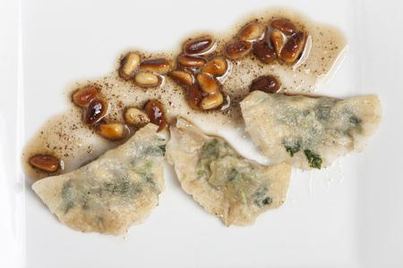 italian schlutzkrapfen filled pasta