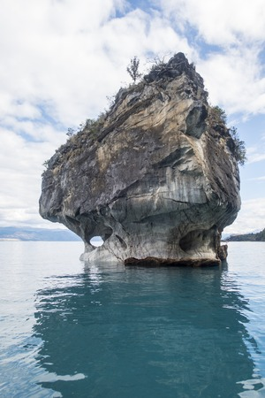 marble cathedral rock in chile