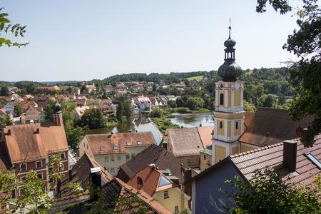 city of kallmuenz in bavaria