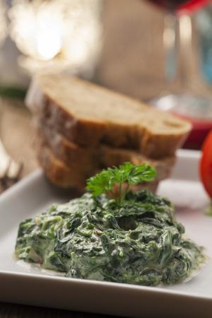 rich spinach yoghurt starter from lebanon