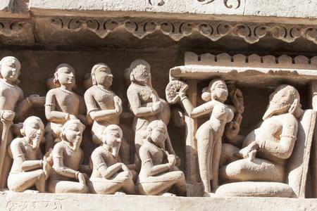 stone carvings in khajuraho india