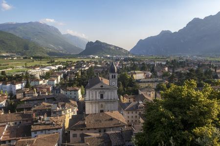 church of Arco in Trentino Italy