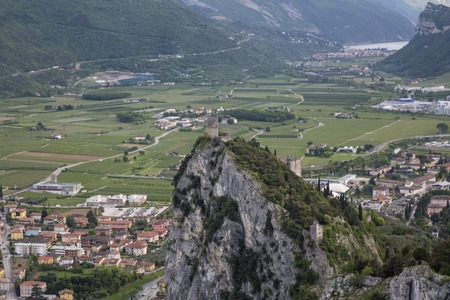 castle of Arco in Trentino Italy