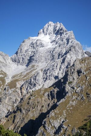 south peak of the watzmann in the alps Stock fotó