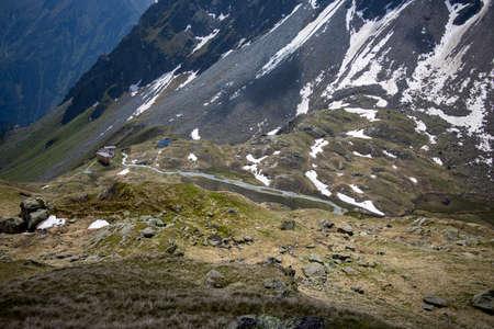 hut in the austrian alps