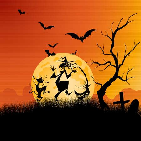 Halloween Backgroud Vector