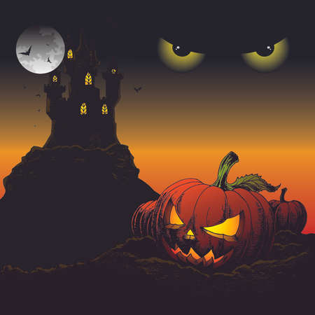 backgroud: Halloween Backgroud Illustration