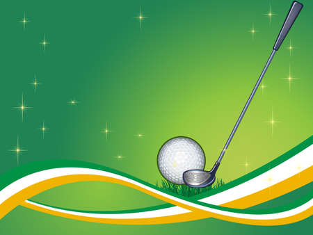 Abstract golf Background ( vector illustration ) Vector