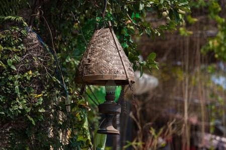 Silk lanterns in Hoi An city, Vietnam photo