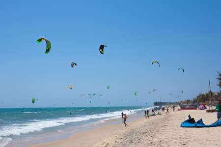 adult vietnam: Kite surfing