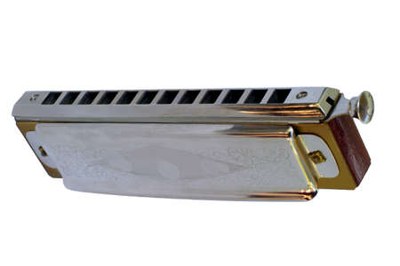 Chromatic Harmonica 4 - View from below