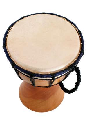 マホガニーの木製ドラムを作るファイブスターダイヤモンド ドラム - トップ ビュー - バリ ・ ガムラン 写真素材