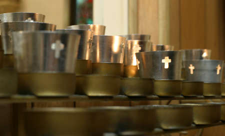 thankfulness: Prayer Candles - Votive Church candles for petitions, help, intervention, protection, and thankfulness.