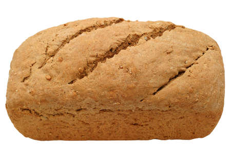 Hearty Bread Loaf Close Up Multi Grain Bread Homemade With 100