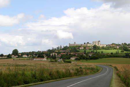中世の村 - ヴィルボワ Lavalette フランス シャラント地方の要塞化された村。
