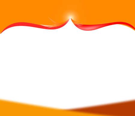 amazing orange frame photo
