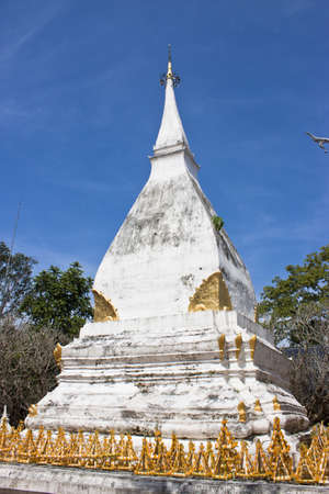 Many of the pagoda in Thailand. The influence of ethnic Mon. The prototype of the many pagodas. photo