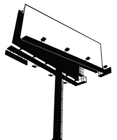 hoarding: Billboard Sign - Blank, Vectorized