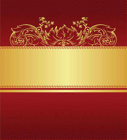 red background Stock Vector - 14796918