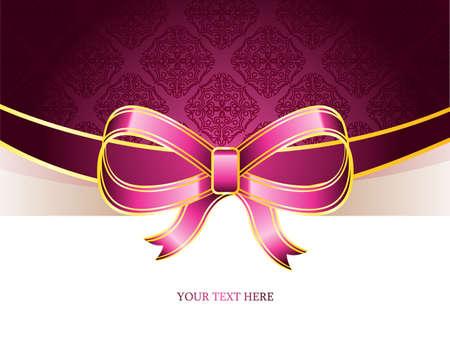 tarjeta de invitacion: Ilustración vectorial de fondo de la vendimia Vectores