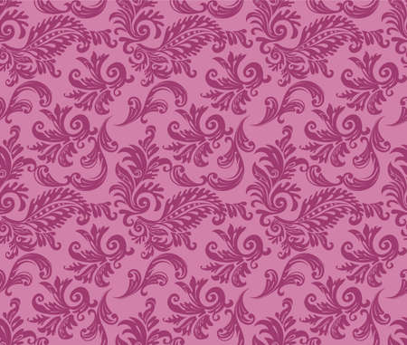 Vector illustration of Damask pattern Vector