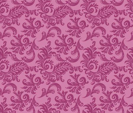 Vector illustration of Damask pattern Stock Vector - 14865123