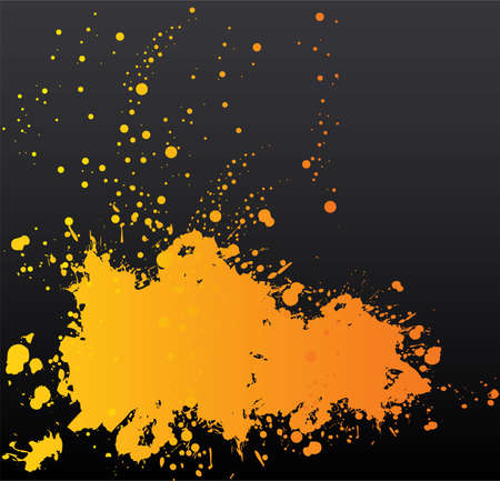 blotch: Vector illustration of Splash back Illustration