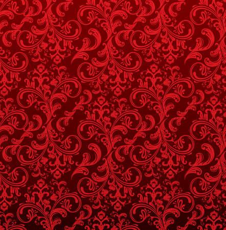 Damask pattern Stock Vector - 14865115