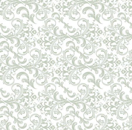 Damask pattern Stock Vector - 14865126