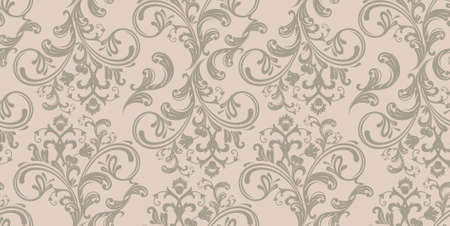 Damask pattern Stock Vector - 14865247