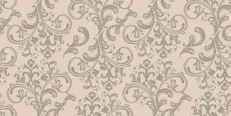 Damask pattern Stock Vector - 14865247