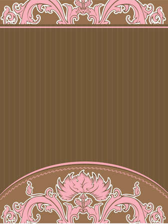 Vector illustration of Vintage background Vector