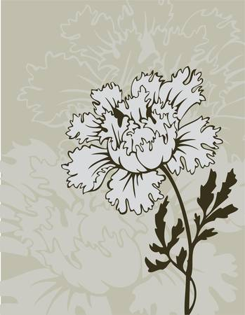 Vector illustration of Floral background Vector
