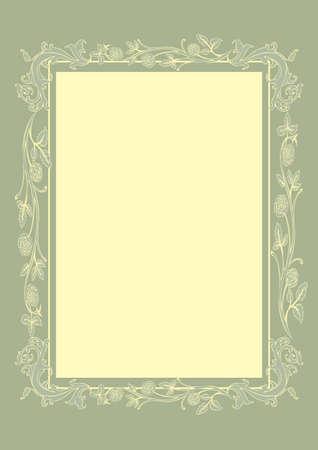 Vector illustration of Vintage background