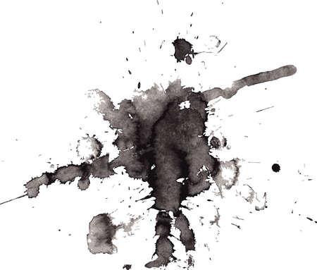 inkblot: Vector illustration of Splash  Illustration