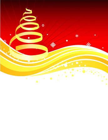 Vector illustration of Xmas back Stock Vector - 14863622