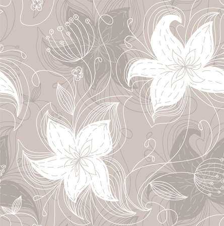 Vector illustration of Floral pattern Stock Vector - 14865547