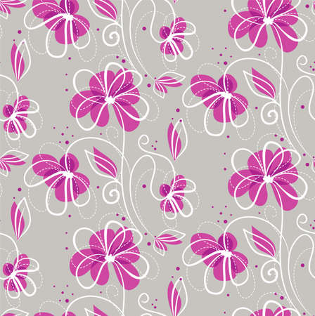 Vector illustration of Floral pattern Stock Vector - 14865444
