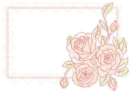 venetian victorian: Flower background
