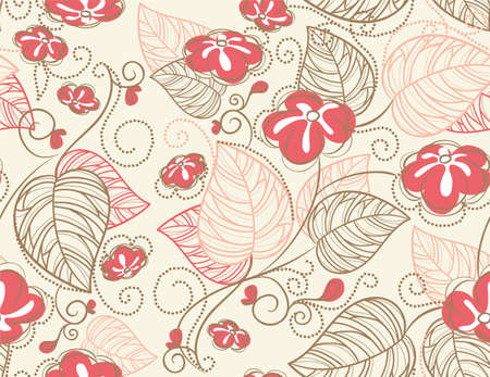 Vector illustration of Floral pattern Stock Vector - 14865520