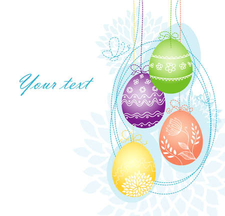 Vector illustration of Pic with eggs Stock Vector - 14864818