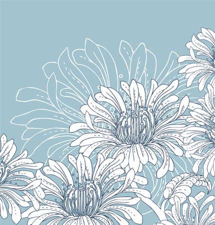 Flower back Stock Vector - 15229748